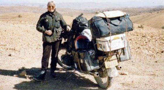 Women Riders: Linda Bootherstone-Bick Adventure Rider