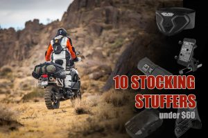 Holiday stocking stuffers for adventure touring.
