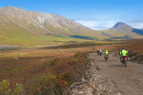 Alaska motorcycle tours Mount Denali