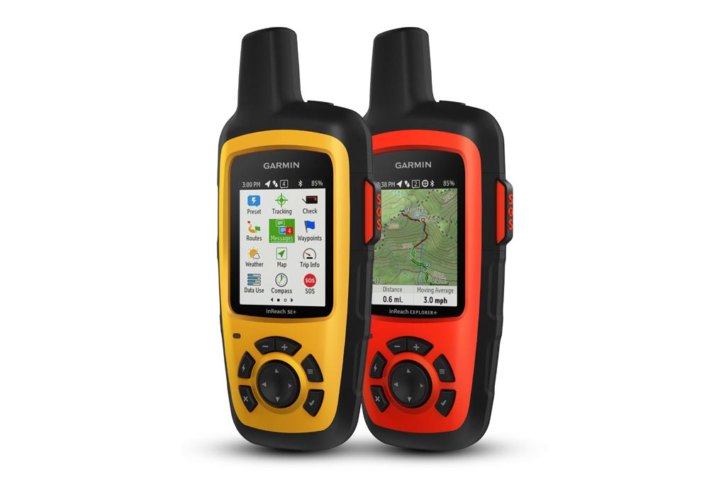 Garmin InReach satellite communication devices SE Explorer