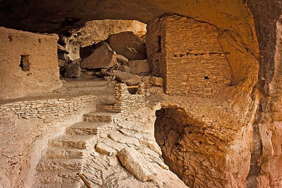 Gila Cliff Dwellings on the Continental Divide