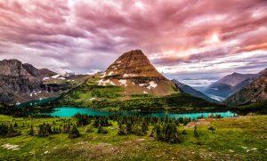 Continental Divide Trail Glacier National Park