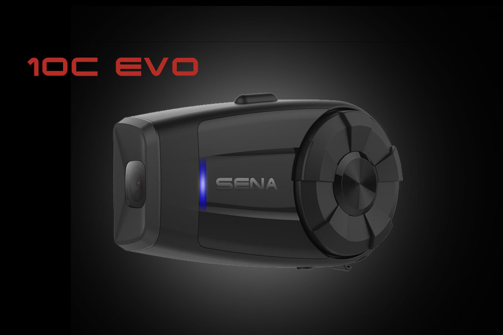 New Sena 10c Evo All In One Bluetooth Headset Amp Hd Action
