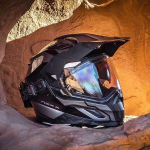 Nexx XD1 Baja Dual Sport helmet.