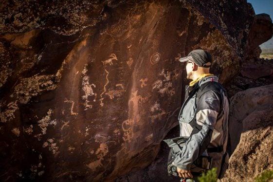 Ride Southwest Utah - Little Black Mountain Petroglyphs