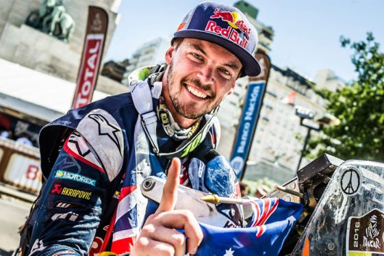 Toby Price Dakar Rally 2017