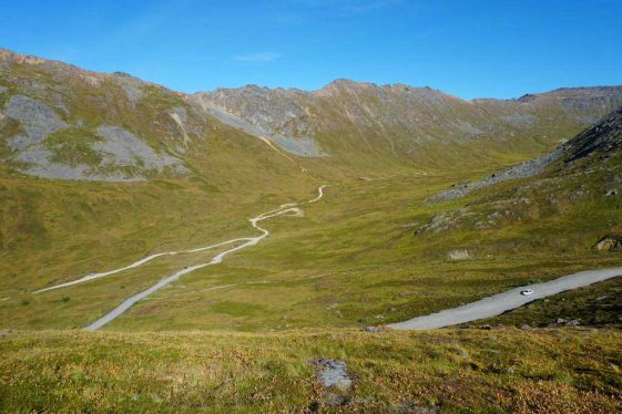 Alaska Mountain Passes Hatcher Pass