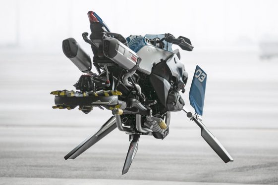 BMW LEGO Technic R1200GS Adventure Bike Concept