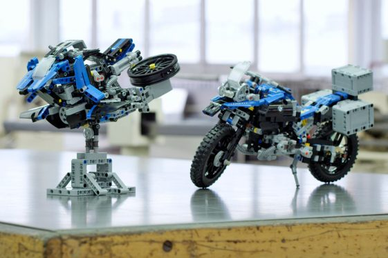 BMW LEGO Technic R1200GS Adventure Bike Concept