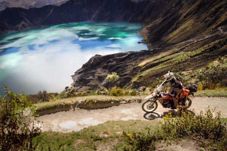 Ecuador Tour Adventure Motorcycle