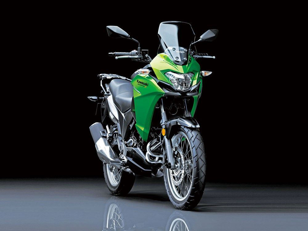 kawasaki releases additional specs for versys x 300 adv pulse. Black Bedroom Furniture Sets. Home Design Ideas