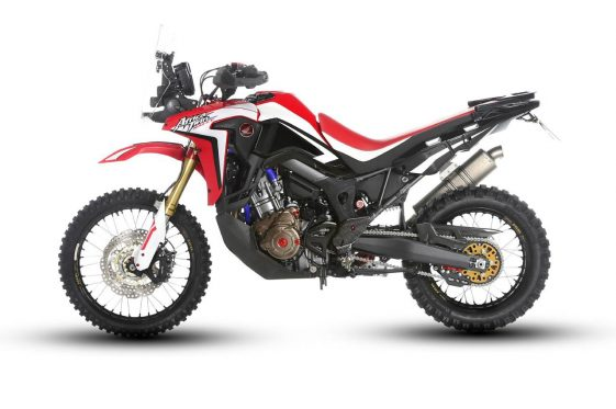 Honda Africa Twin Rally Bike