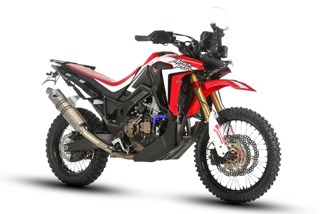 new honda africa twin rally bike unveiled adv pulse. Black Bedroom Furniture Sets. Home Design Ideas