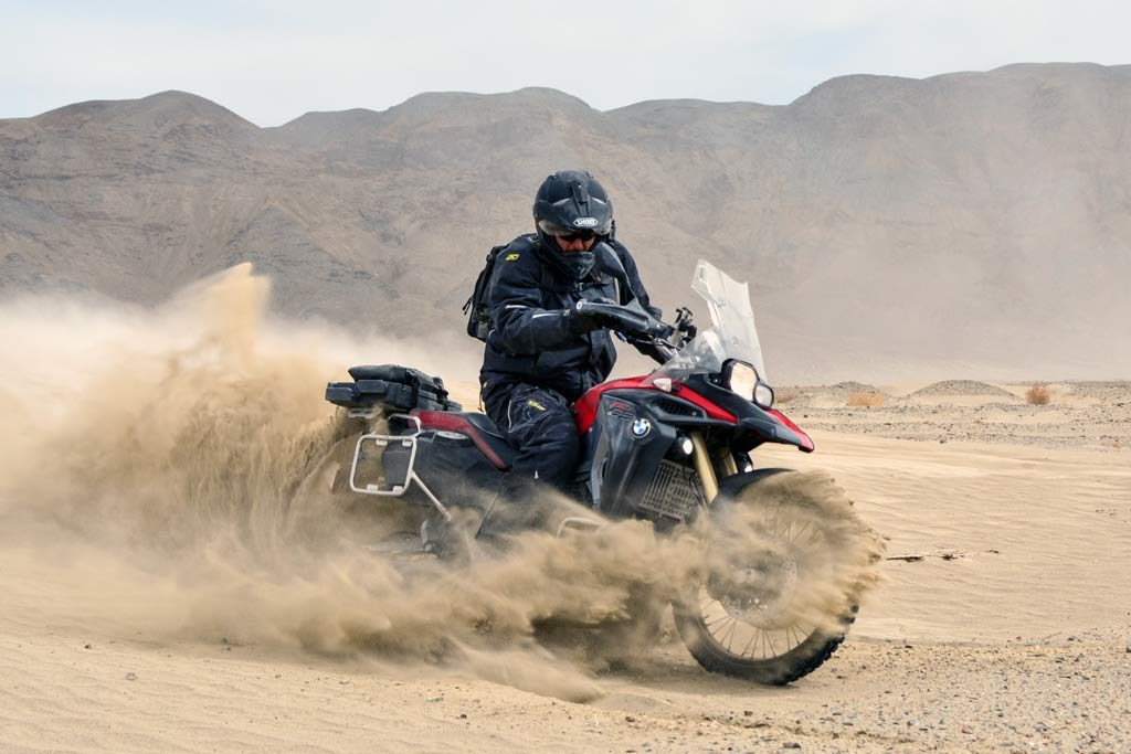 BMW F800GS at the AltRider Taste of Dakar 2017