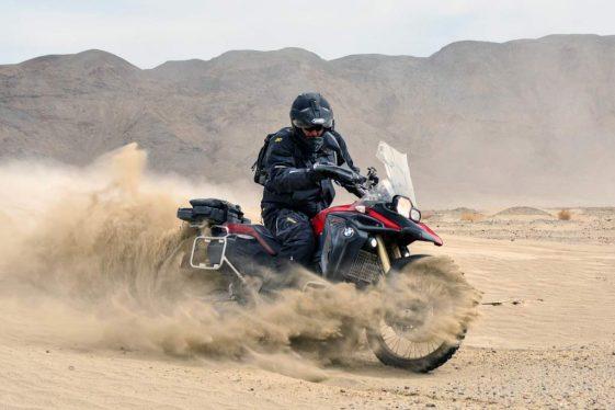 BMW F800GS at the AltRider Taste of Dakar 2017