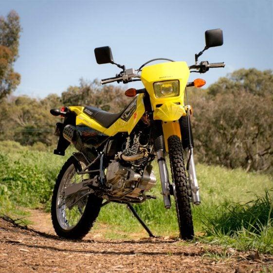 Small Bikes: 2017 Suzuki DR200S