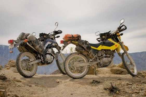 Small Bikes Big Adventures: Suzuki DR200S and Yamaha XT250 - ADV Pulse