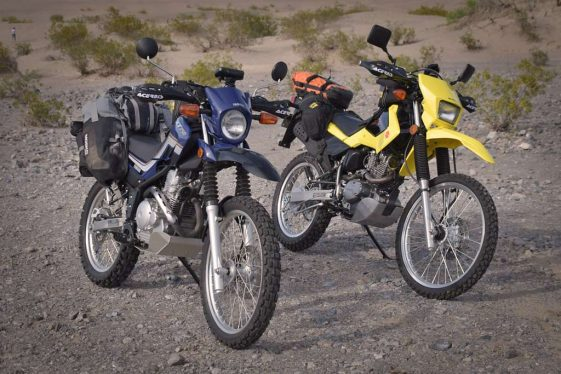 Adventure accessories for small bikes
