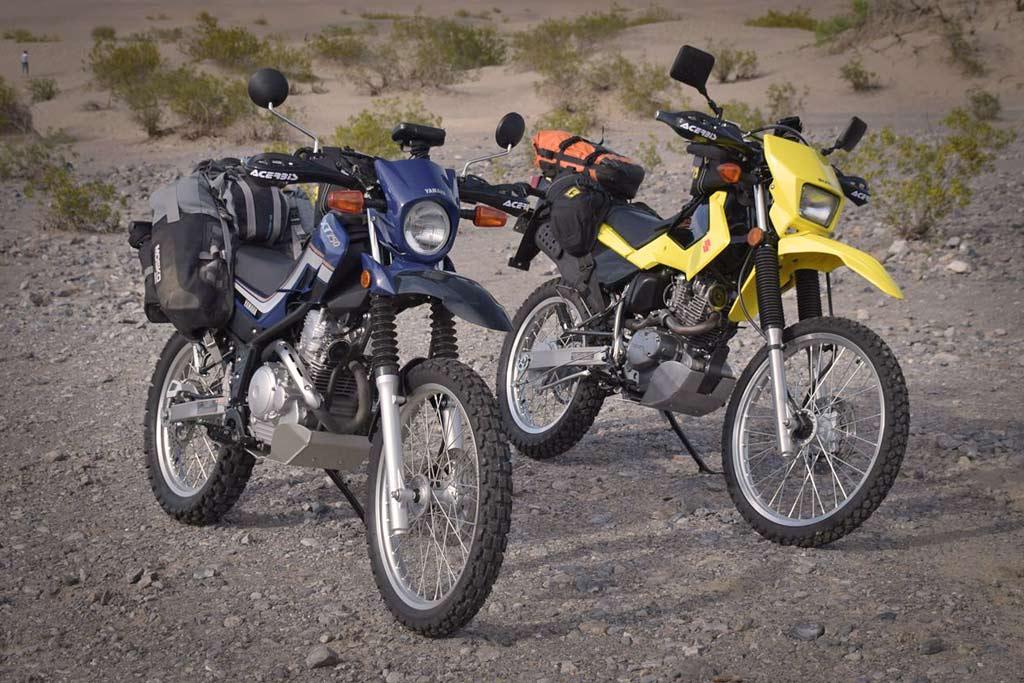 Small Bikes Big Adventures: Suzuki DR200S and Yamaha XT250 - ADV Pulse