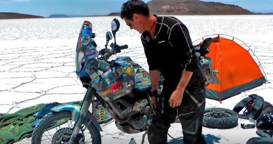 Spencer Conway South America Motorcycle Diaries