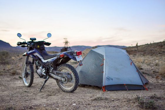 Motorcycle Camping Gear bargains Adventure Motorcycle