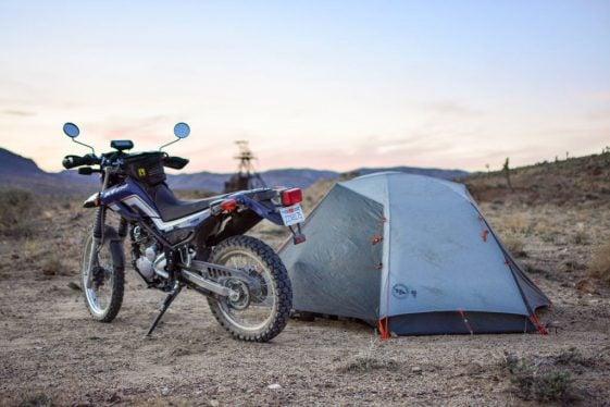 Camping at the Taste of Dakar