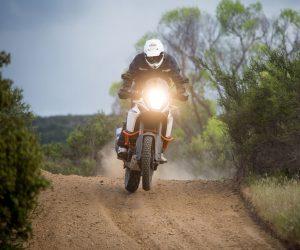KTM 1090 Adventure R Test - Jump