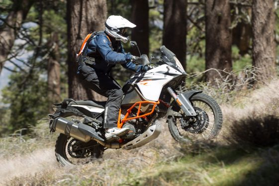 KTM 1090 Adventure R Test Ride