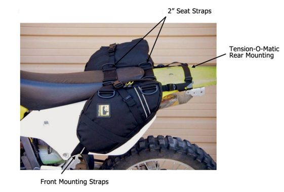 Wolfman Daytrippers Saddlebags