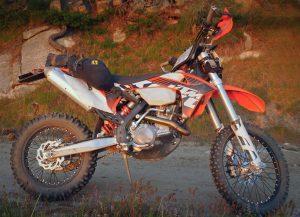 Wolfman Daytripper Saddle Bags KTM 500 EXC