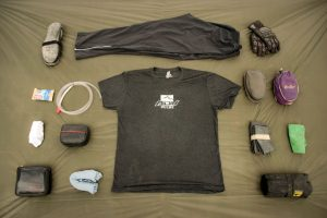 What fits inside the Wolfman Daytripper Saddlebags.