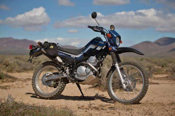 Wolfman Daytripper Saddle Bags Yamaha XT250