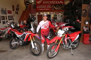 2017 Honda CRF250L Rally at JCR Honda HQ
