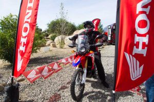2017 Honda CRF250L Rally staged start