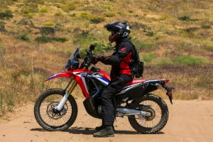 2017 Honda CRF250L Rally Sitting Ergos