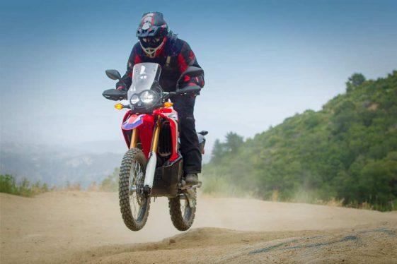2017 Honda CRF250L Rally Jump