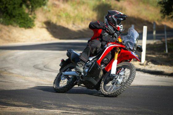Honda CRF250L Rally Highway Performance