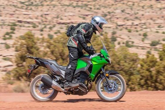 Kawasaki Versys-X 300 off-road ergos