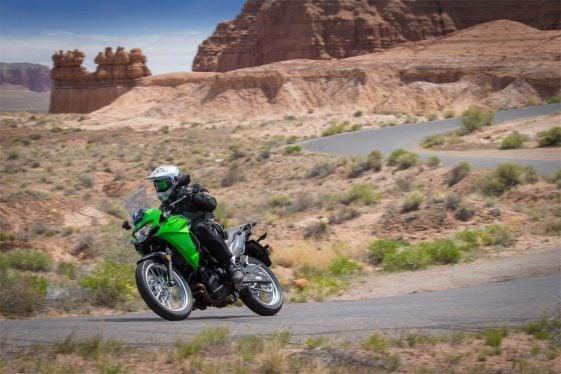 Kawasaki Verys-X 300 on the highway