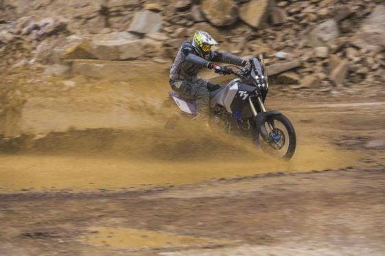 Yamaha T7 Adventure Motorcycle