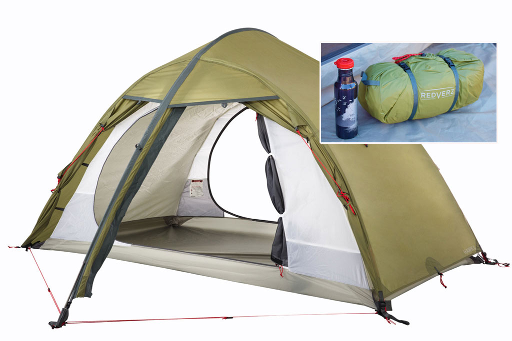 Redverz Gear innovator in motorcycle tents has expanded its lineup with a completely new tent u2014 The Hawk II. Redverz tents are known for their spacious ...  sc 1 st  ADV Pulse & Redverz Launches u0027Hawk IIu0027 Compact 4-Season 2-Person Tent - ADV ...