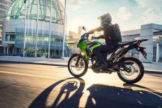 Kawasaki Verys-X 300 in the city