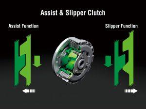 Kawasaki Versys-X 300 slipper clutch