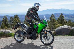 2017 Kawasaki Versys-X 300 standing ergos