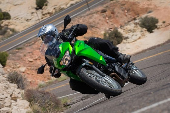 2017 Kawasaki Versys-X 300 in the twisties