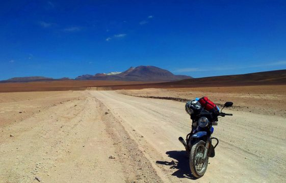 Riding RTW on a motorcycle as a complete novice rider