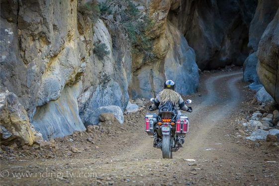 Ride round the world with no Budget