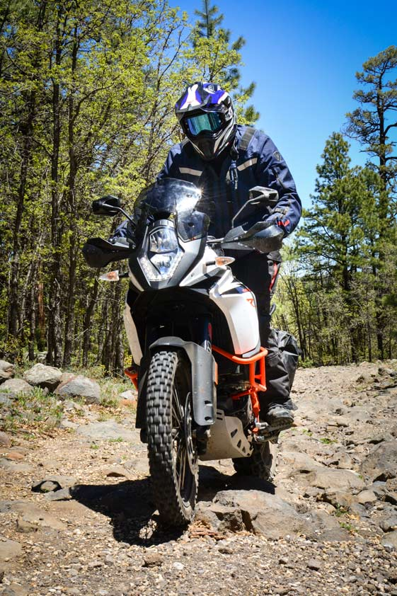 Overland Expo West 2017 KTM 1090R Adventure Motorcycle