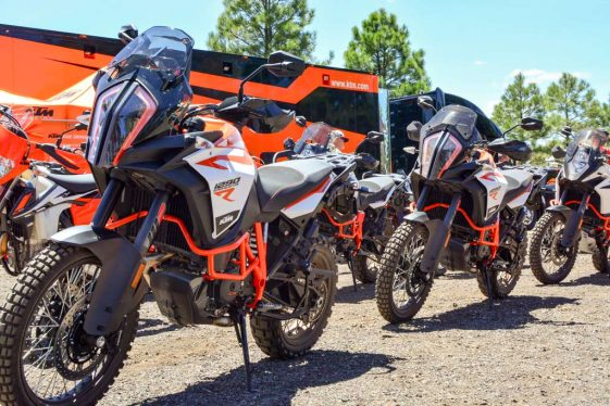 Overland Expo West 2017 KTM 1290R demo