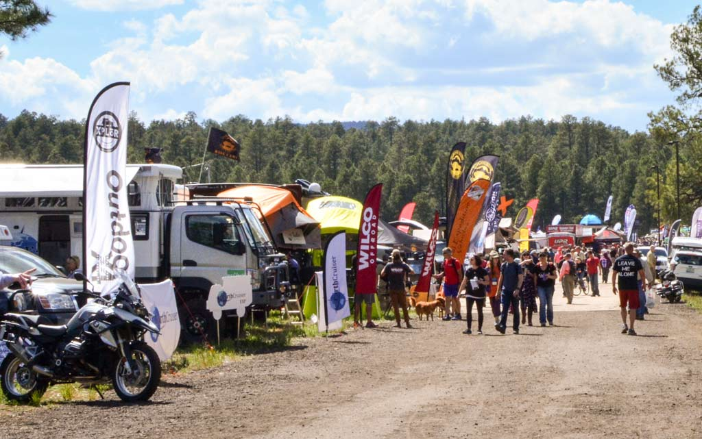 Overland Expo West 2017 booths